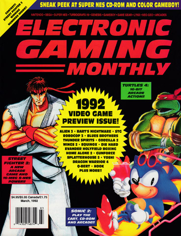 Electronic Gaming Monthly Issue 032 (March 1992) - Electronic Gaming Monthly - Retromags Community