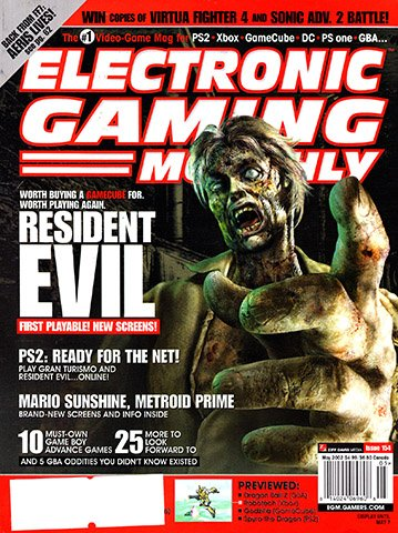 Electronic Gaming Monthly Issue 154 (May 2002) - Electronic Gaming Monthly - Retromags Community