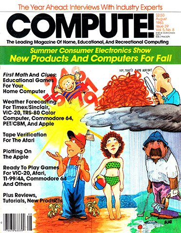 Compute! Issue 039 Vol. 5 No. 8 (August 1983)