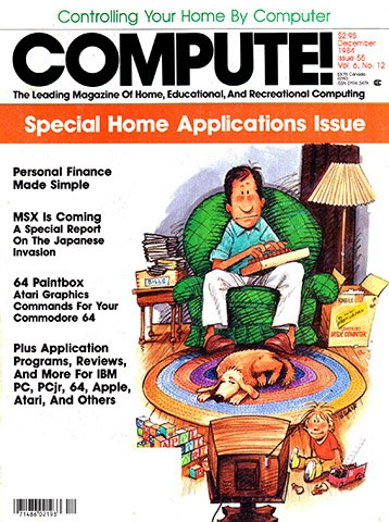 Compute! Issue 055 Vol. 6 No. 12 (December 1984)
