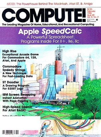 Compute! Issue 069 Vol. 8 No. 2 (February 1986)