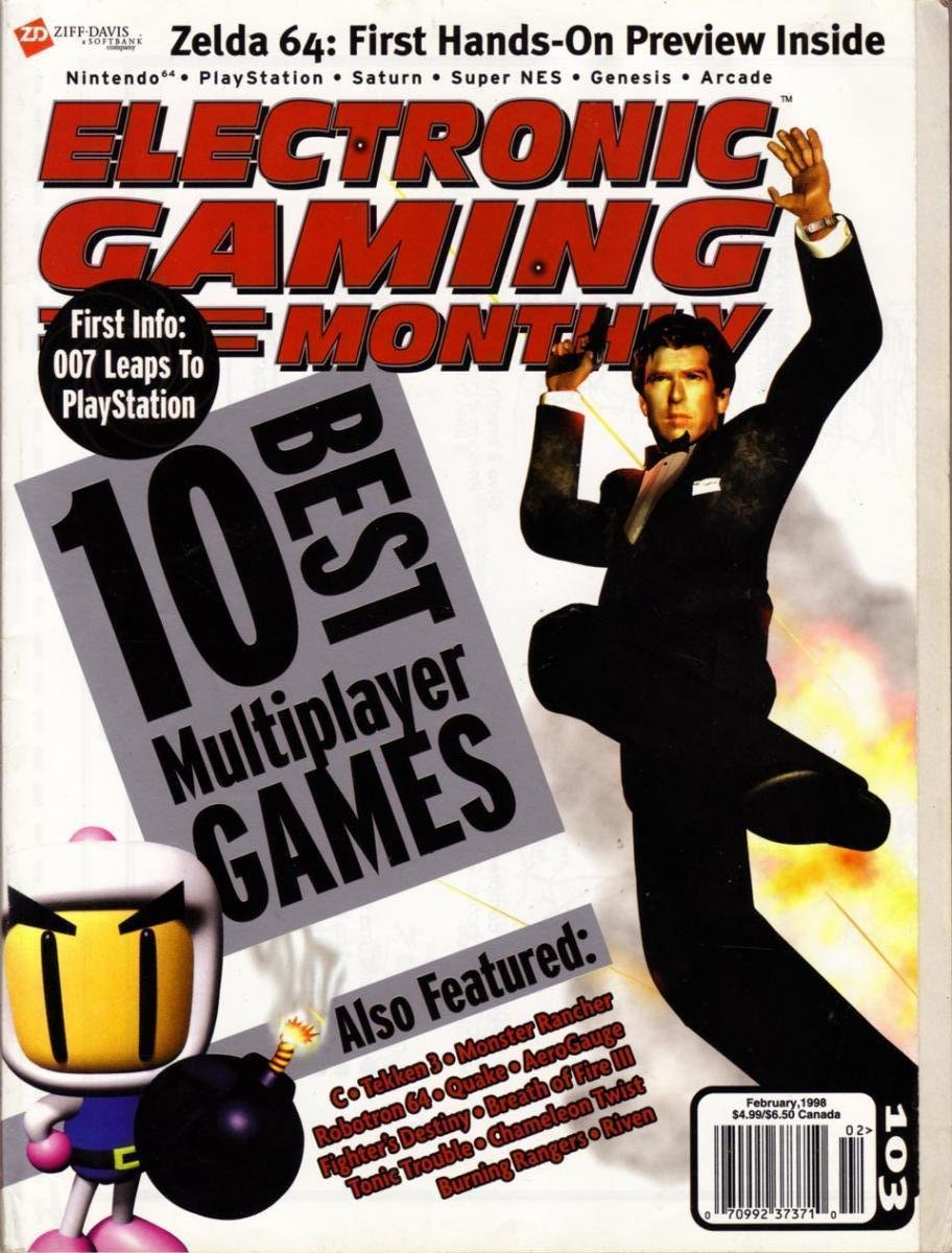 Electronic Gaming Monthly Issue 103 (February 1998)