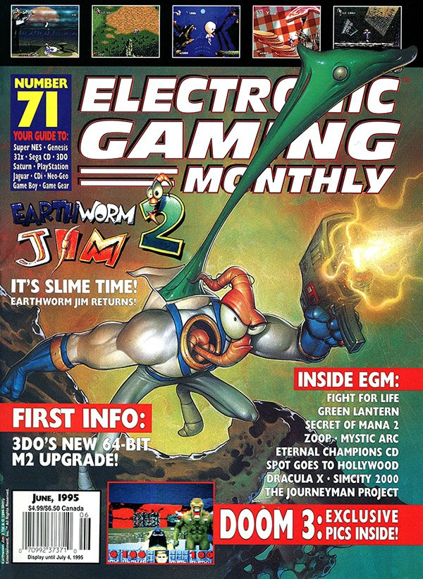 Electronic Gaming Monthly Issue 071 (June 1995)