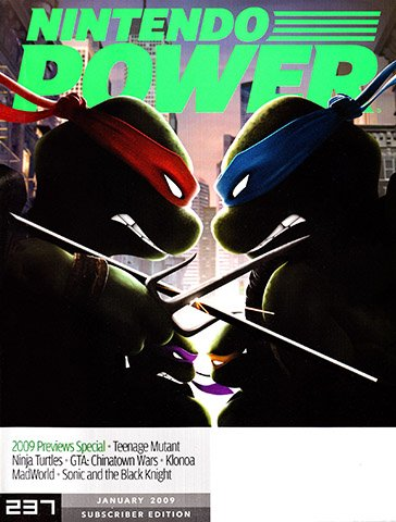 Nintendo Power Issue 237 (January 2009)