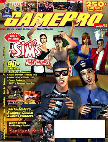 GamePro Issue 166 (July 2002)