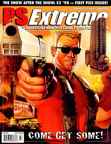 PSExtreme Issue 32 (July 1998)