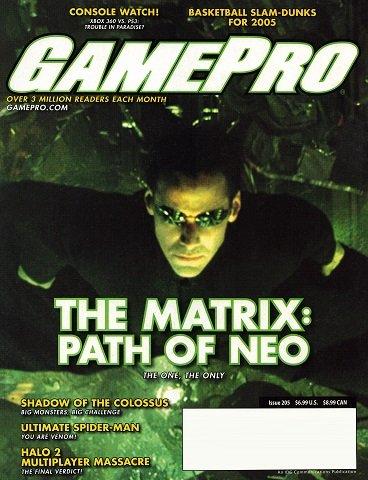 GamePro Issue 205 (October 2005)