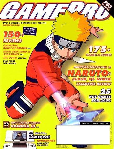 GamePro Issue 211 (April 2006)