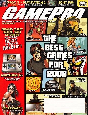 GamePro Issue 196 (January 2005)