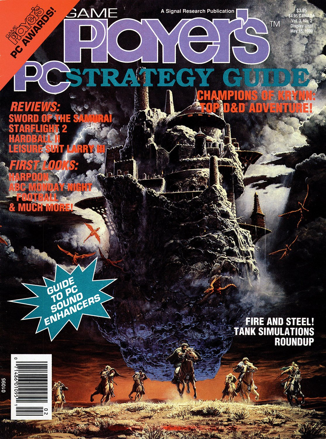 Game Player's PC Strategy Guide Volume 3 Number 2 (March/April 1990)