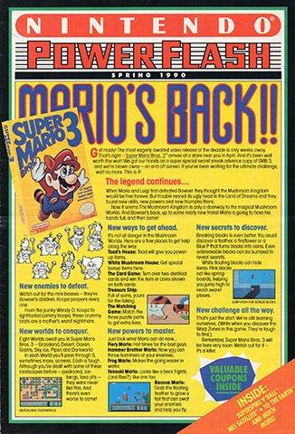 Nintendo Power Flash Issue 7 (Spring 1990)