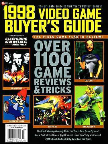 EGM's 1998 Video Game Buyer's Guide