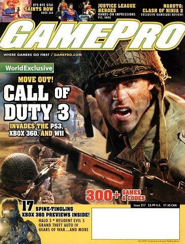 GamePro Issue 217 (October 2006)