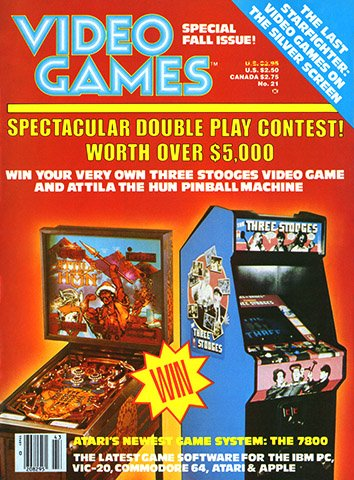 Video Games Issue 21 (Fall 1984)