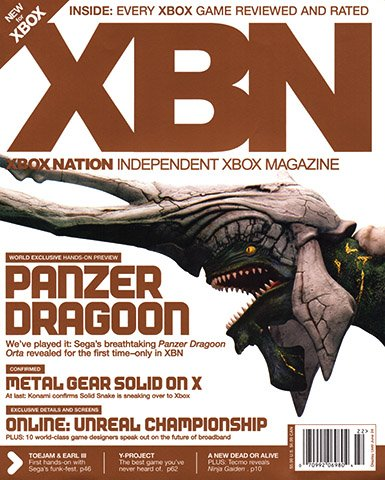 Xbox Nation (XBN) Issue 03 (Summer 2002)