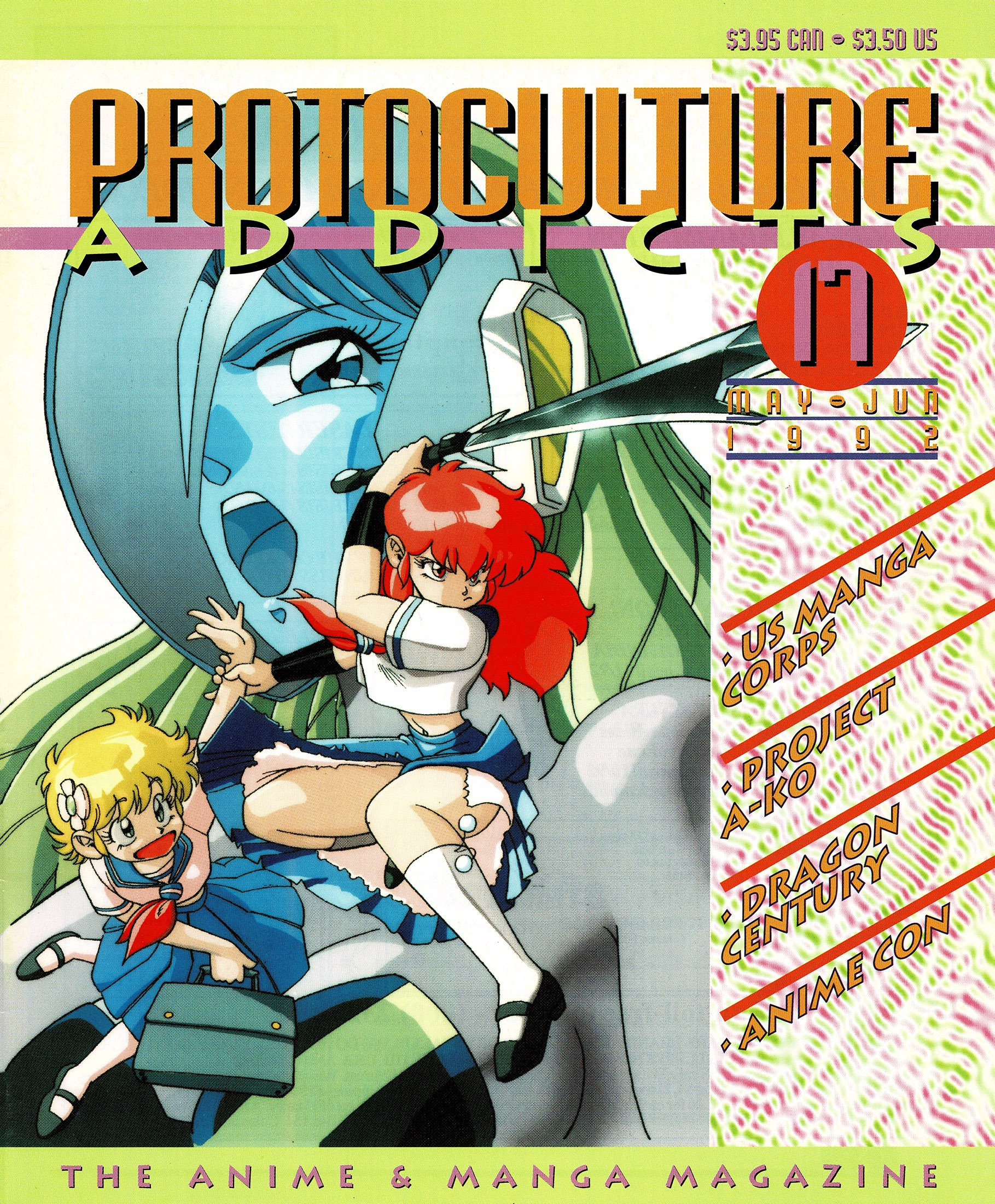 Protoculture Addicts Issue 17 (May-June 1992)