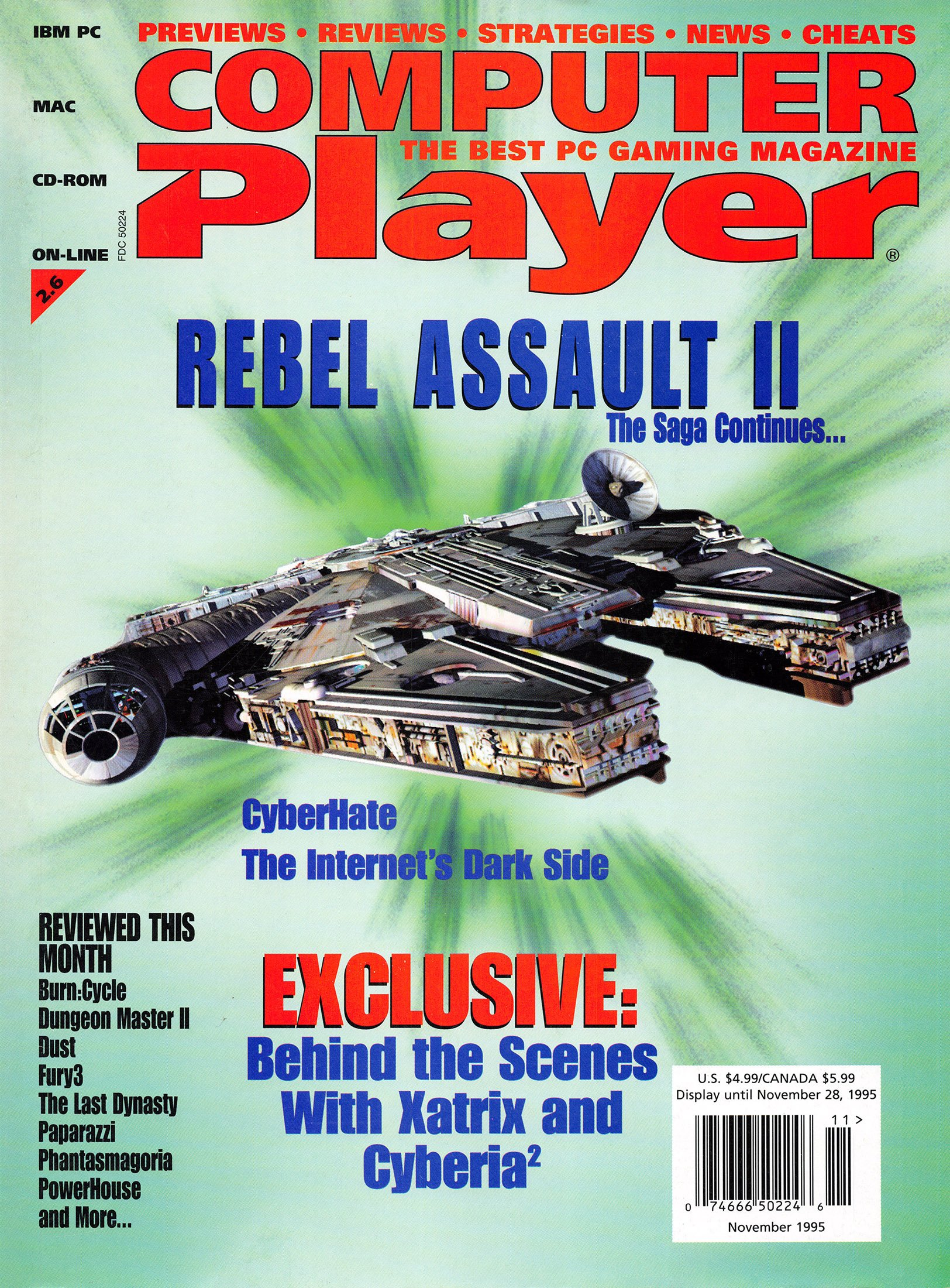 Computer Player Vol.2 Issue 6 (November 1995)