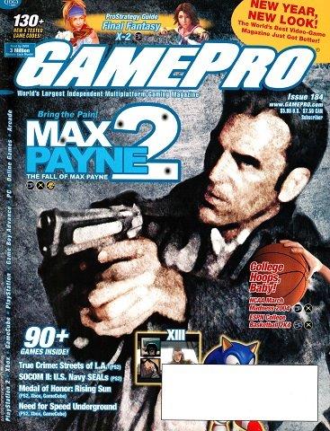 GamePro Issue 184 (January 2004)