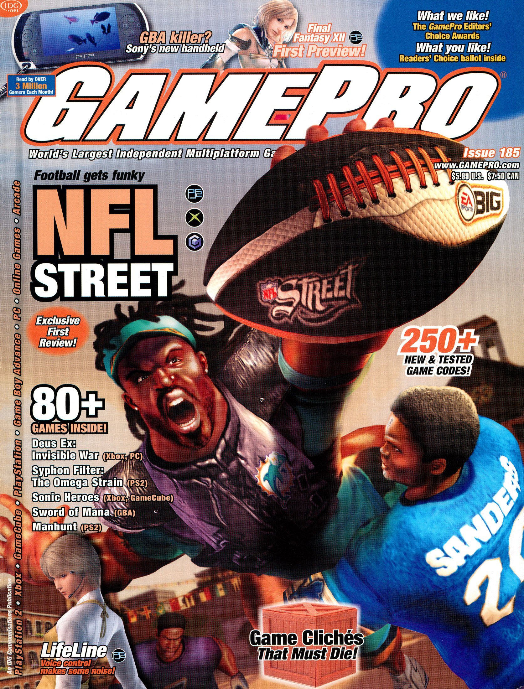 GamePro Issue 185 (February 2004)