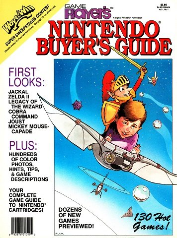 Game Player's Nintendo Buyer's Guide Vol.1 No.1b (August 1988)