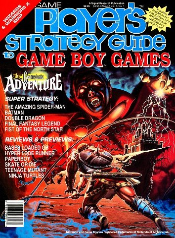 Game Player's Strategy Guide to Game Boy Games Vol. 1 No. 1 (Summer 1990)