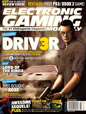 Electronic Gaming Monthly Issue 180 (July 2004)