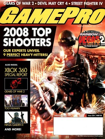GamePro Issue 234 (March 2008)