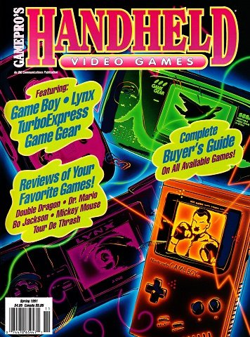 GamePro's Handheld Video Games Issue 1 (Spring 1991)