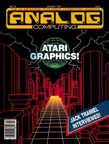 Analog Issue 026 (January 1985)