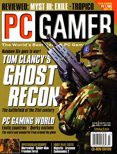PC Gamer Issue 086 (July 2001)