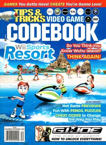 Tips & Tricks Video Game Codebook Volume 16 Issue 6 (November-December 2009)
