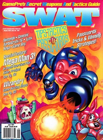 S.W.A.T. Issue 02 (June 1991)