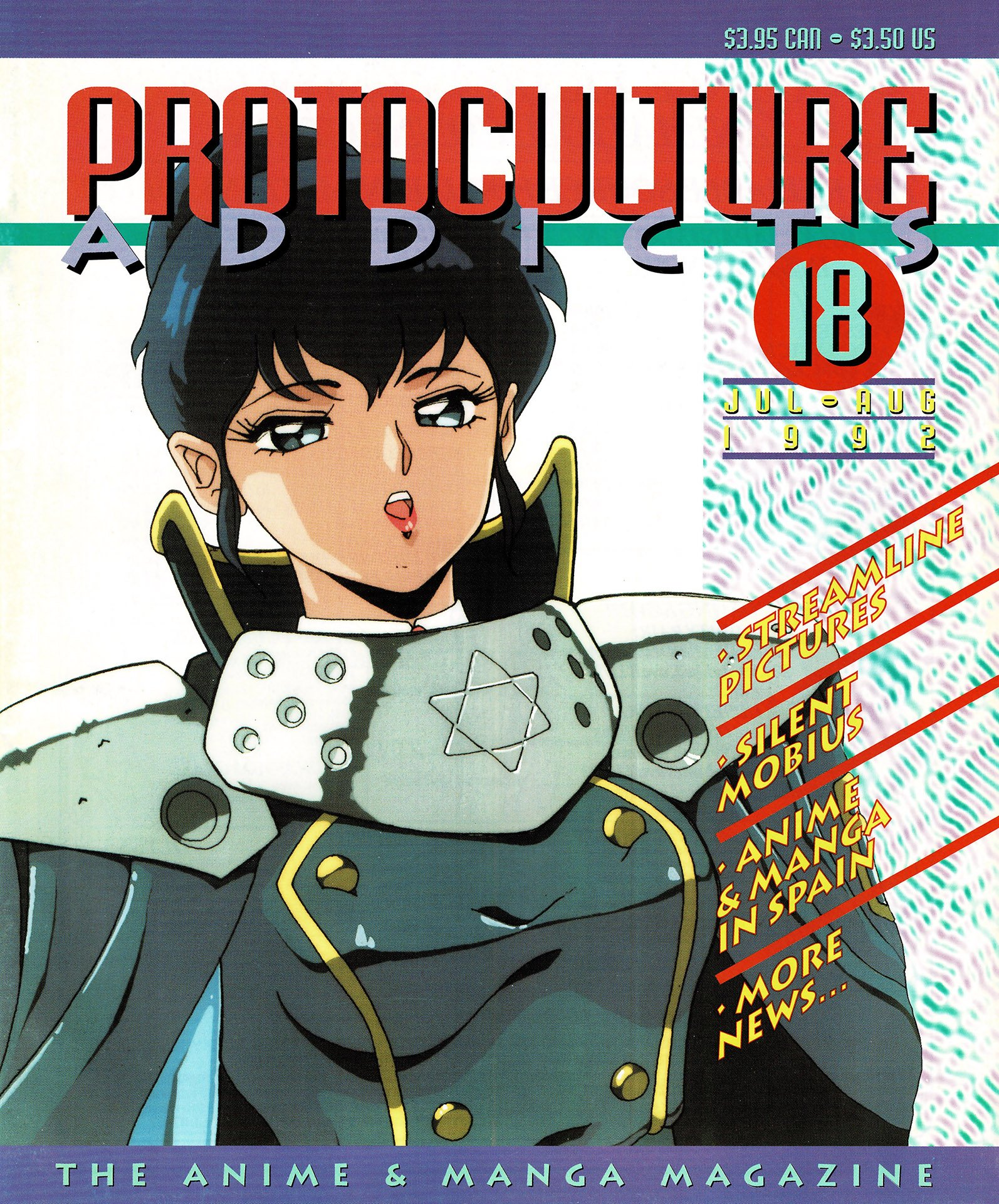 Protoculture Addicts Issue 18 (July-August 1992)