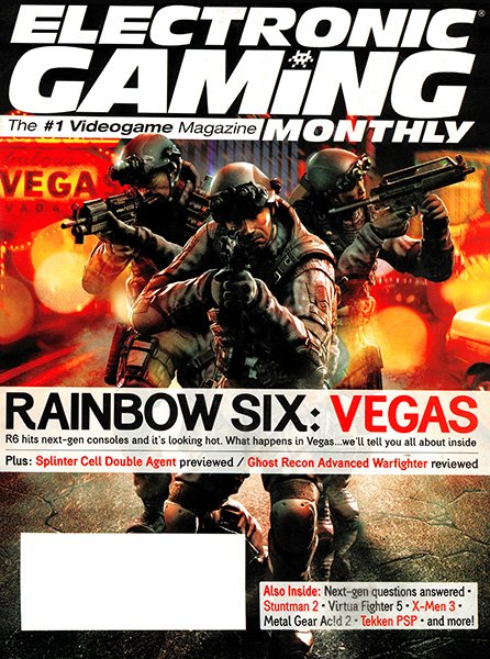 Electronic Gaming Monthly Issue 202 (April 2006)