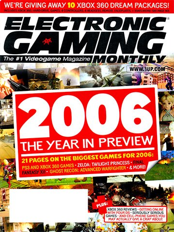 Electronic Gaming Monthly Issue 199 (January 2006)