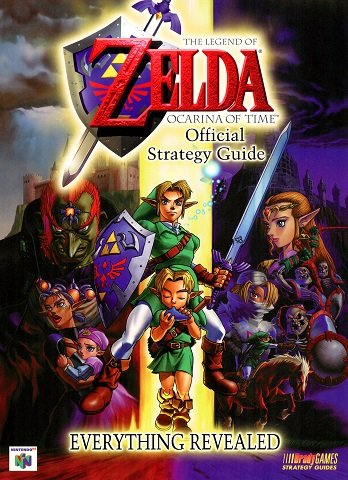 The Legend of Zelda - Ocarina of Time Official Strategy Guide