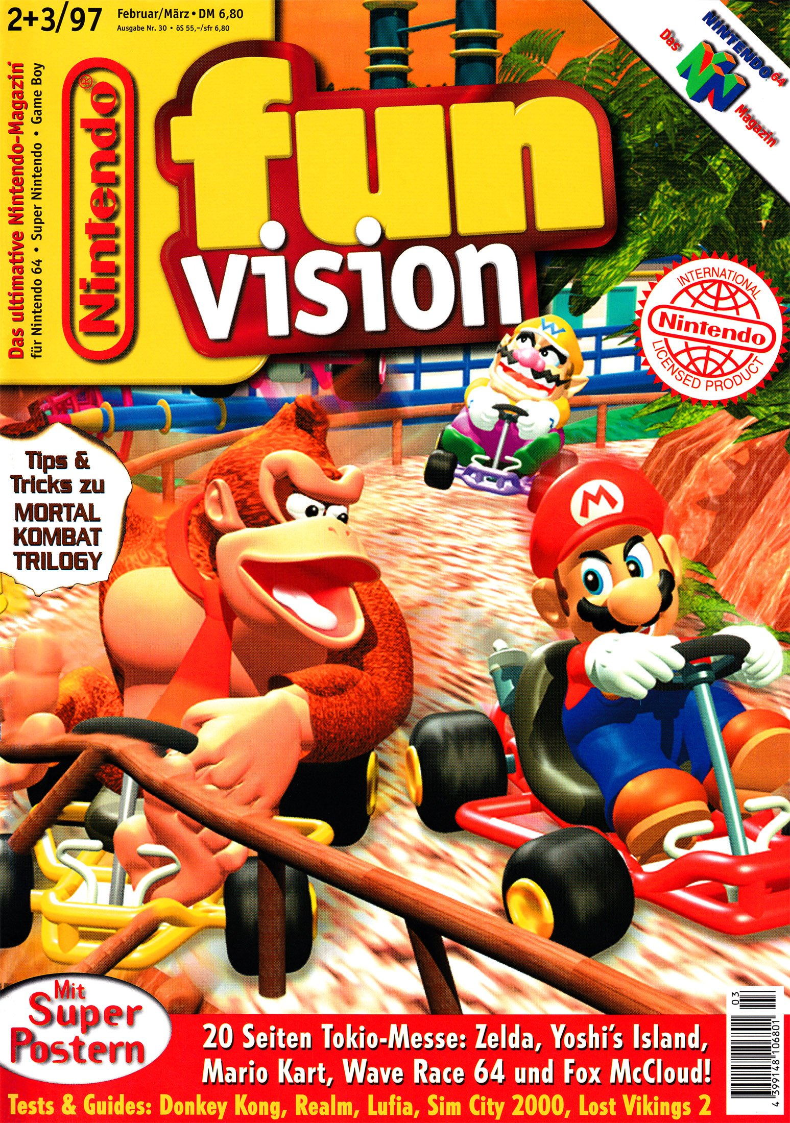 Nintendo Fun Vision Issue 30 (February-March 1997)