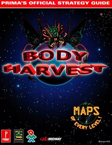 Body Harvest - Prima's Official Strategy Guide