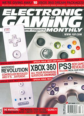 Electronic Gaming Monthly Issue 198 (December 2005)