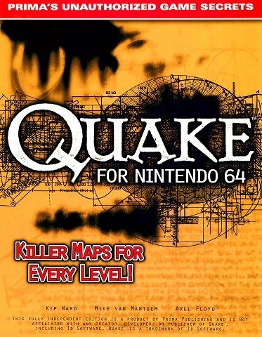 Quake for Nintendo 64 - Prima's Official Strategy Guide