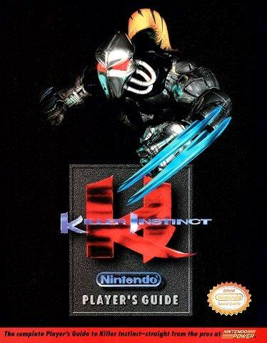 Killer Instinct Nintendo Player's Guide