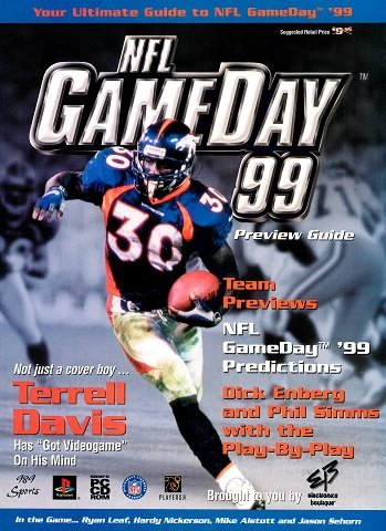 NFL GameDay 99 Preview Guide