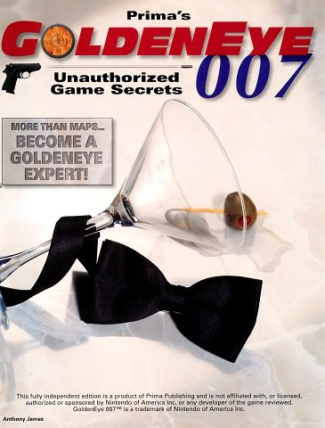 Prima's GoldenEye 007 Unauthorized Game Secrets