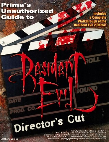 Resident Evil Director's Cut (Prima's Unauthorized Guide to)
