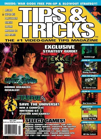 Tips & Tricks Issue 029 (July 1997)