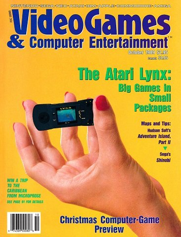 Video Games & Computer Entertainment Issue 09 (October 1989)