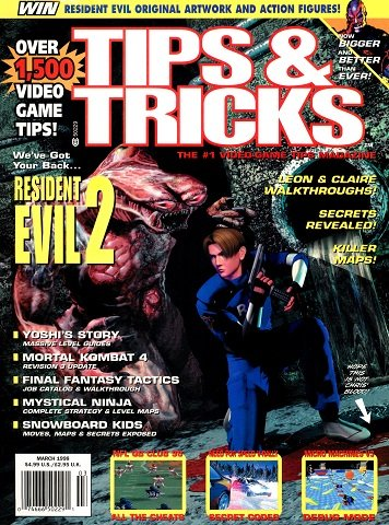 Tips & Tricks Issue 037 (March 1998)