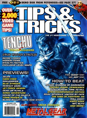 Tips & Tricks Issue 045 (November 1998)
