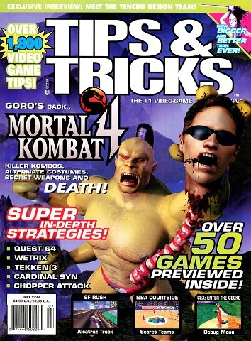 Tips & Tricks Issue 041 (July 1998)