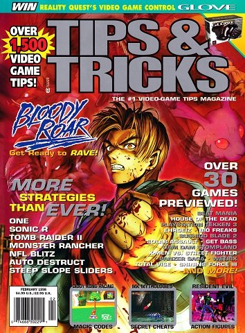 Tips & Tricks Issue 036 (February 1998)
